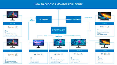 How to choose a monitor for leisure