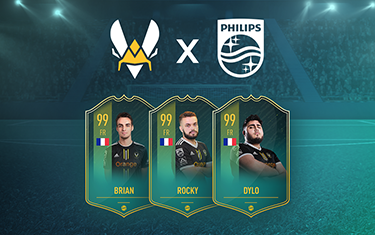 Team Vitality unveils partnership with Philips Monitors for FIFA team
