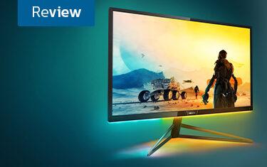 Philips 436M6VBPAB among best 4K gaming monitors @Rock Paper Shotgun