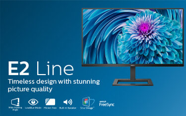E2 Line: Timeless design with stunning picture quality